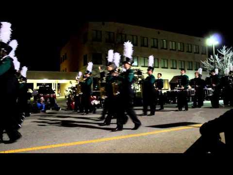 McDonough Christmas Parade - Ola High School Marching Band