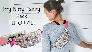 The CUTEST fanny pack - Tutorial!!