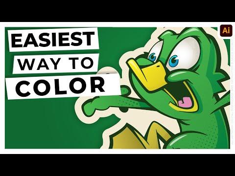 Adobe Illustrator Tutorial: Live Paint Bucket