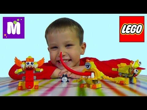 Миксель Лего пакетики с игрушкой монстриками сюрприз распаковка Lego Mixels