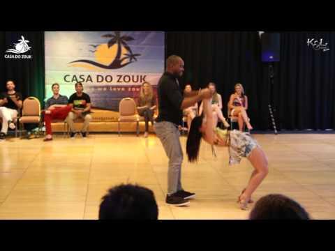 Casa do Zouk 2015 - Brazilian Zouk Invitational J&J 4th Place