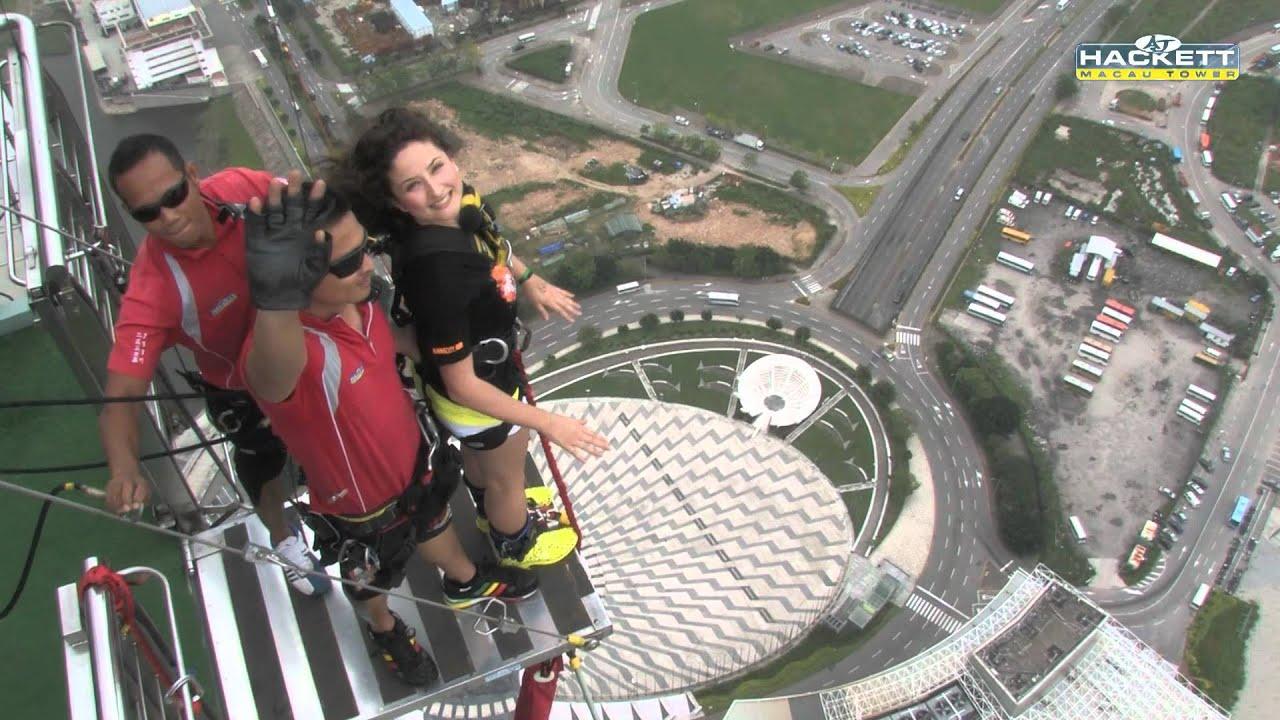Sky Tower Jump Jump 2012 Macau Tower