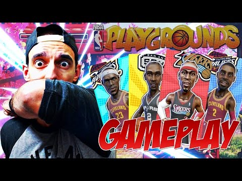 NBA PLAYGROUNDS GAMEPLAY! PACK OPENINGS & TOURNAMENT GAMEPLAY!