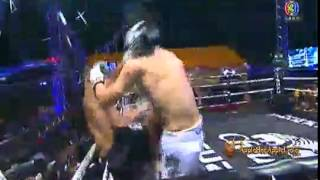 Saiyok Vs Antoine Thai Fight December 21st, 2014