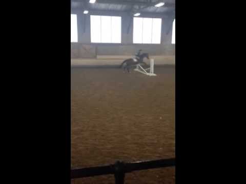 IEA Show at the Ethel Walker School - Jumping Round on HT - 9/27/14 - 09/27/2014