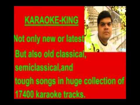 karaoke dil diya hai jaan bhi denge karma