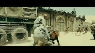 Resident Evil Extinction 2007 - Best Scene - Zombie Attack