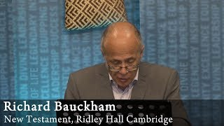 Video: Jesus' 12 disciples are missing at crucial events: Crucifixion, Burial & Empty tomb -  Richard Bauckham