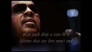 Watch Stevie Wonder Passionate Raindrops video