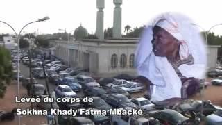 Sokhna Khady Fatma Mbacke dice adiós