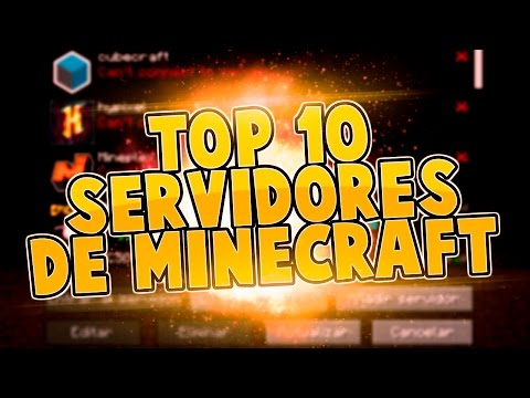 TOP 10 SERVIDORES DE MINECRAFT 1.8 PREMIUM REVIEW