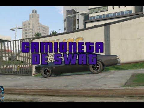 GTA Online: Camioneta SWAT (Vehículos Especiales p.2)