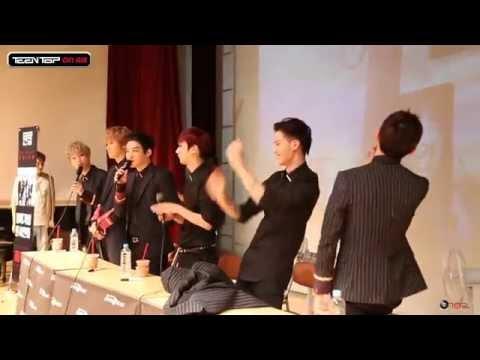 "TEEN TOP On Air - TEEN TOP ""ÉXITO"" 첫 팬사인회 현장 스케치"