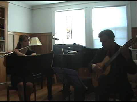 Mauro Giuliani Grand Duo for Flute&Guitar 1st Movement Amy Abbatomarco