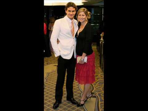 Roger Federer and Mirka Vavrinec Video
