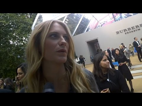 Poppy Delevingne At Burberry SS15 I GRAZIA GOOGLE GLASS