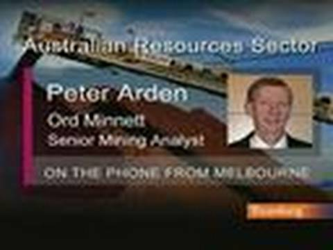 Ord's Arden Likes Australian Mid-Cap Resource Stocks: Video