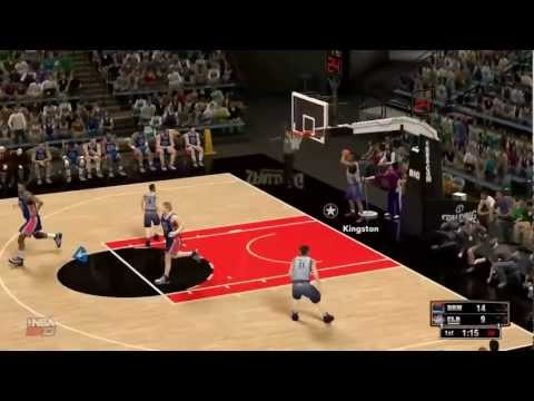 NBA 2K13 – Celeb Team VS Dream team