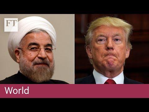 Donald Trump decertifies Iran nuclear deal