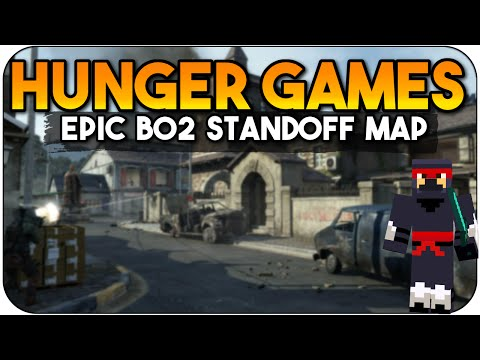 MineCraft PS3 Edition COD BO2 Hunger Games Standoff Black Ops 2 Multiplayer Gameplay Title Update