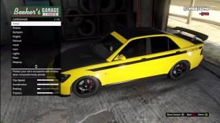 GTA 5: FULLY CUSTOMIZED Mitsubishi Lancer Evolution (Karin Sultan) Los Santos Customs