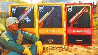 "INSANE SUPPLY DROP LUCK! - WORLD WAR 2 ""HEROIC"" & ""EPIC"" SUPPLY DROP OPENING! (COD WW2 New Weapons)"