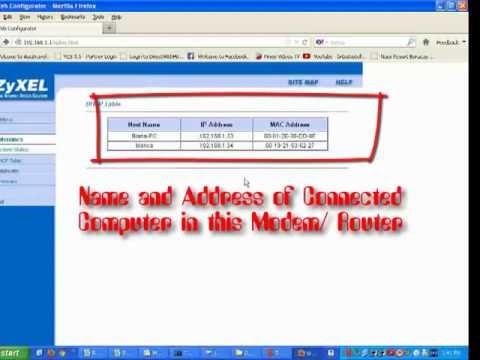 Configure  Zyxel P-61 Series Modem Router (PLDT modem/ router)