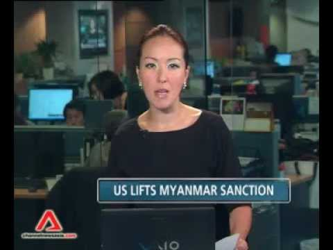 U.S. Lifts Myanmar's Sanctions