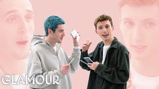 Troye Sivan And Lauv Take A Friendship Test Glamour