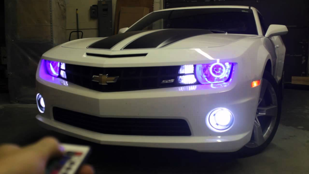 Camaro Custom Lighting Multicolor Angel Eye Halos