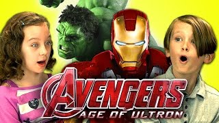 Kids React to Avengers: Age of Ultron