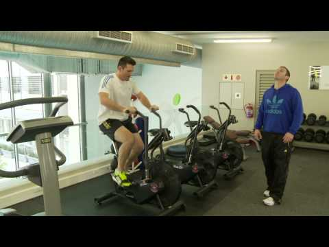 Graeme Smith on the road to recovery