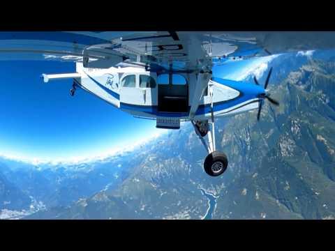 Skydive 360° @ ParaCentro Locarno, Switzerland