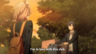 Oregairu2 ep 4: Yui fall in love scene