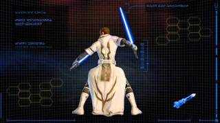 Star Wars : The Old Republic | Jedi Knight Progression trailer (2010)