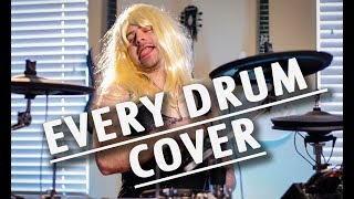 Download Lagu every type of drum cover Gratis STAFABAND