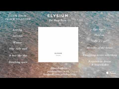 Pet Shop Boys: Elysium -Official album sampler