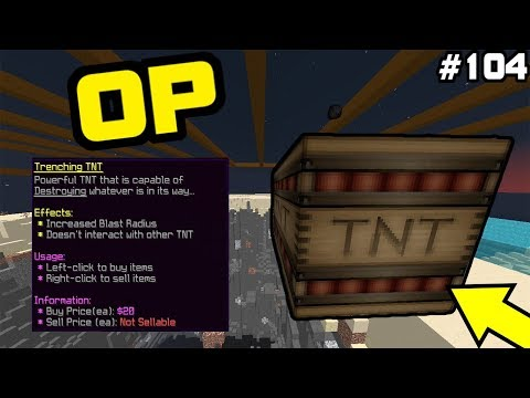 Minecraft Factions [Season 7] #104: TNT TRENCHING!?