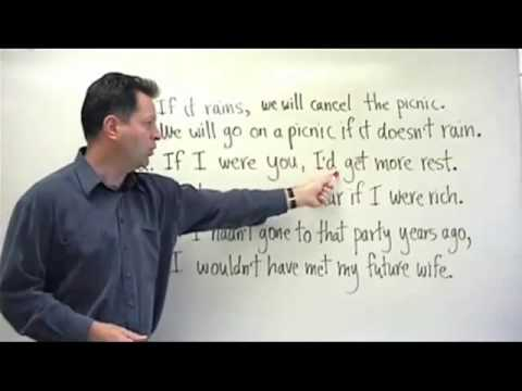 Advanced English Grammar ESL Lesson - Conditionals