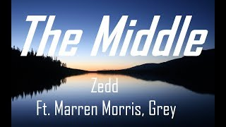 Download Lagu Zedd, Maren Morris, Grey - The Middle (Pronunciacion y letra) Gratis STAFABAND