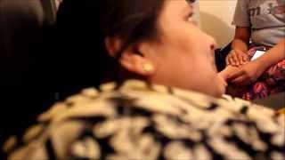 Bengali Mom - Phoning Family In Bangladesh haha she so happy