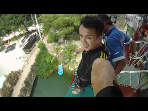 Sunway Lagoon Bungy Jump with GoPro Hero HD