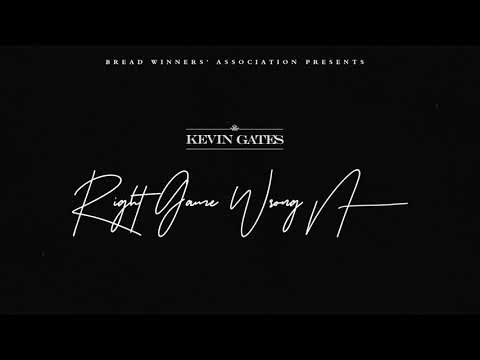 Kevin Gates - Right Game Wrong N**** (Official Audio)