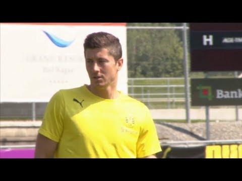 Lewandowski unterschreibt beim FC Bayern bis 2019 | Stürmer kommt ablösefrei von Borussia Dortmund