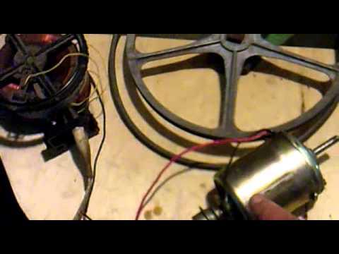 Электропривод медогонки от печки