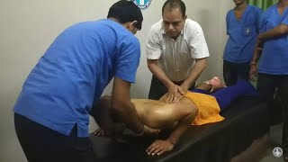 L4-5 Slip disc and cervical pain completely cured in 12 days by Dr Yogesh Sharma Sikar Rajasthan