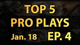 Dota 2 Top 5 Pro Plays Daily - Ep. 4 (1/18/2015)