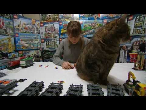 LEGO 3677 Red Cargo Train Music Videos