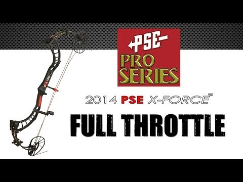2014  PSE Full Throttle : The FASTEST Compound Bow