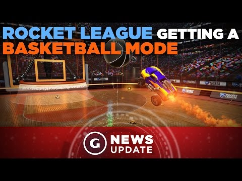 Rocket League Dev Teases Basketball Mode - GS News Date